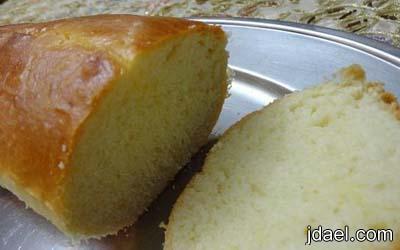 تحضير خبز التوست بعجينة يدك وبالصور