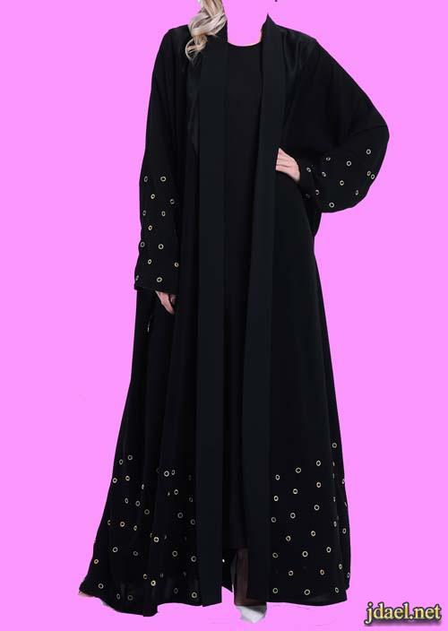 عبايات وجلابيات خليجية محتشمة عصرية لبنات الخليج ليالي رمضان