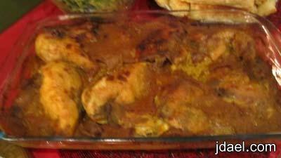 طريقة عمل الارز الاصفر بالدجاج بخلطة النشا والطعم خرافه