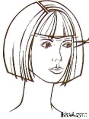 خطوات الشعر الكثيف والخفيف لغير المحترفين بالصور