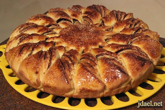 طريقة عمل وتحضير كيكة البريوش brioche cake