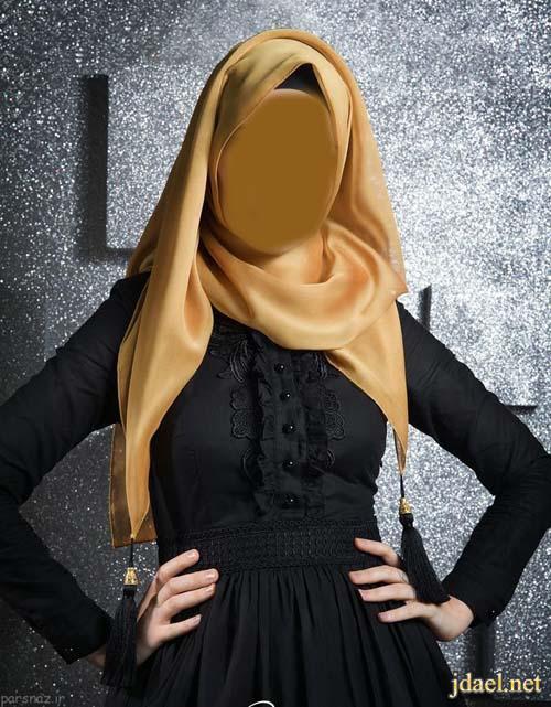 عبايات فخمه للحجاب التركي والخليجي بمطرزات ترتر وقصب