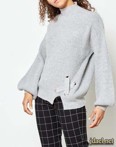 تشكيلة روعة بموديلات بلايز الشتاء ملابس شتوية بقصات منوعة