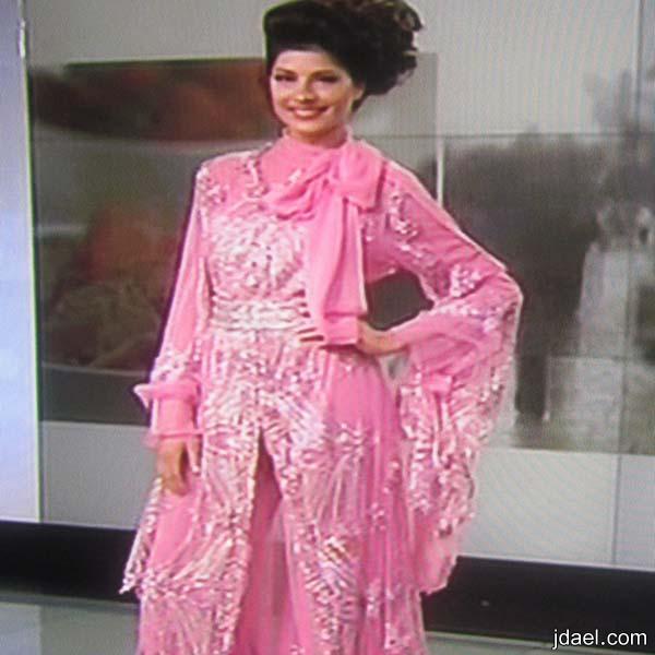 تصميم الثوب التونسي بالبنطلون للمصممه سوار القماطي عياد
