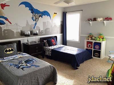 ديكور غرف نوم بمساحة صغيرة للاولاد في سن المراهقة