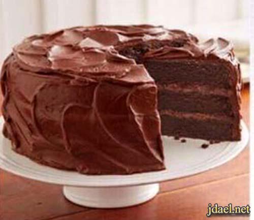 كيكة شوكولاتة هشة وسريعة التحضير والطعم روعة
