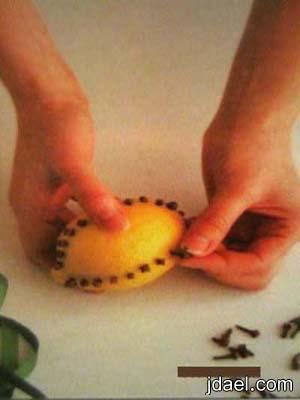 طريقه مدهشه لروائح المنزل صنع يدك استخدام الفواكه لروائح جميله