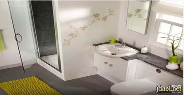ديكورات غرف حمامات في غاية الجمال والاناقه للراقين