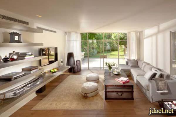 ديكور غرف جلوس عصريه ومريحه وسهلة الترتيب