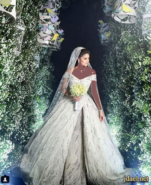 فساتين زفاف وطرح طويلة للعروسة بتوقيع زهير مراد 2018