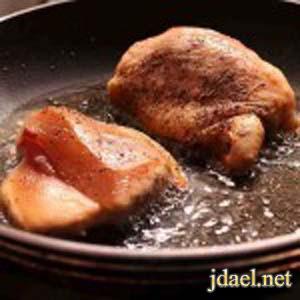 طريقة طبخ صدور بصوص البرتقال والطعم المسكر
