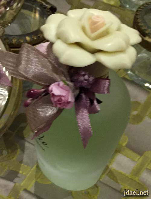 تزيين عطور دبش وهدايا العروسه مناسبة الفرح والشبكه
