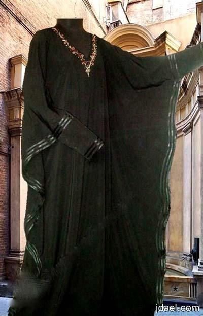 عبايات خليجيه للسهرات والحجاب