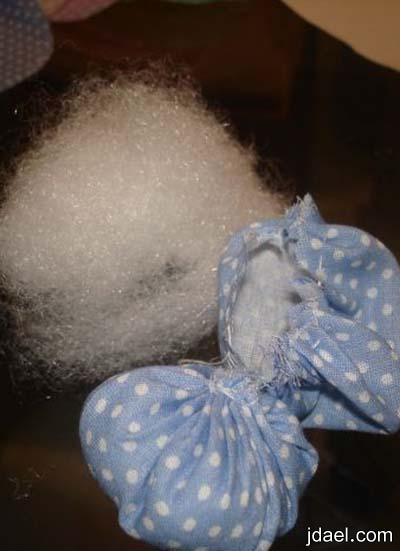 اكسسوار القماش لتجديد وتزيين ستارة غرفة نوم الاطفال بالصور