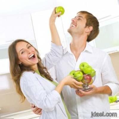 مساعدة الزوج السمين على انقاص الوزن بطرق فعليه الزوجه