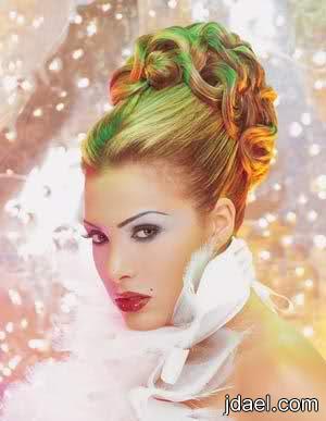 مجموعة تسريحات لر فع الشعر تجنن بالصور