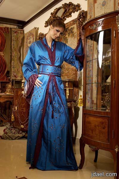 موديلات القفطان التقليدي للمغرب التكشيطه المغربية اللباس المغربي