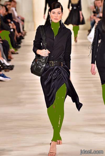 ملابس عصريه للسهرات والنهار تهوس للمصمم العالمي رالف لورين