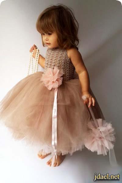 العيد واناقة البنات الاطفال بروعة فساتين سوارية فخمة
