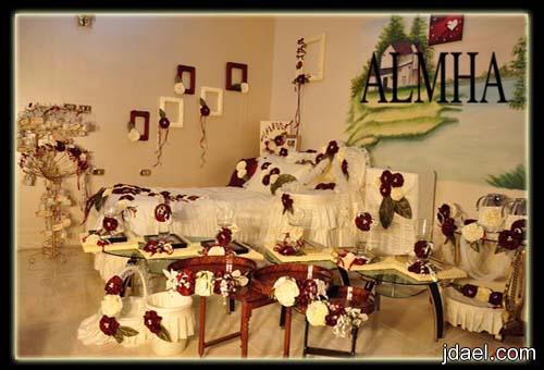 ديكورات وتصاميم لغرف النفاس والولاده بموديل الورد النافر واجمل