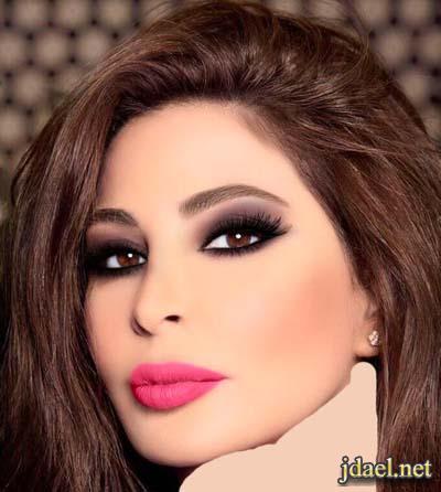 جديد مكياج بسام فتوح للفنانه اليسا بمجموعة الوان الموضه
