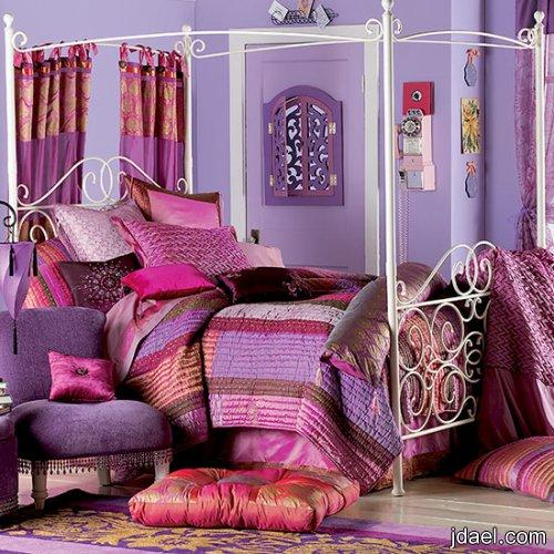 غرف نوم بين الجرئه والهدوء