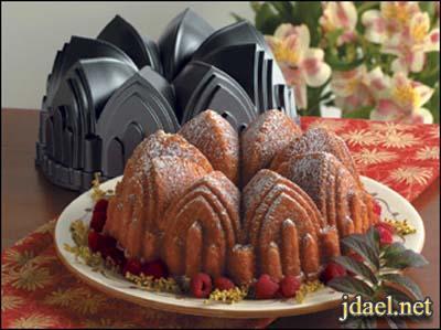 صواني وقوالب تيفال لخبز الكيك والكب كيك باشكال مميزه للمبتدئين