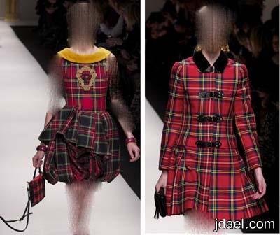 تشكيلة ملابس شتاء 2014 بلوكات منوعه