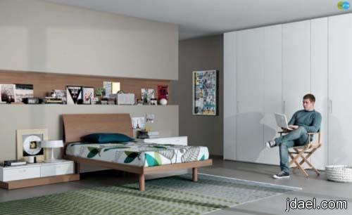 ديكورات غرف نوم بالوان وتصاميم تلائم ذوق المراهقين بنات وشباب