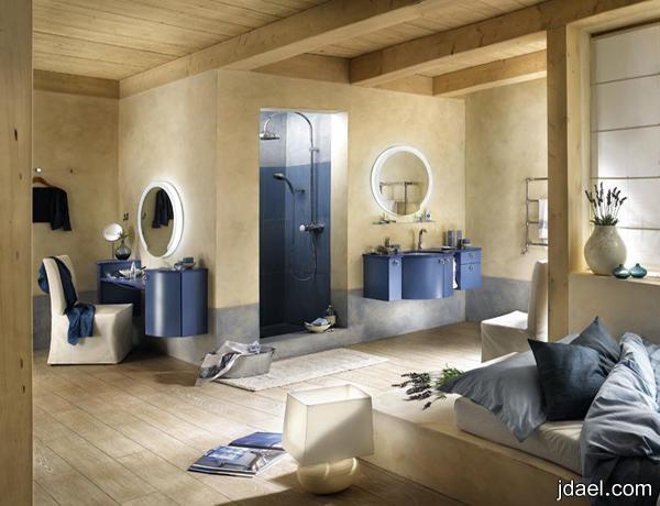 ديكورات حمامات 2013 احدث ديكور ارضية الحمامات والحوض بالصور