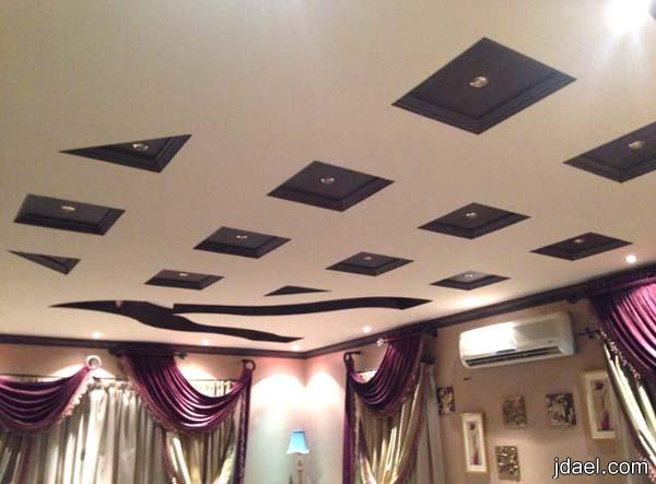 جبس اسقف مجوف في غرف الاستقبال والصالات تصميم السعوديات منتدى جدايل
