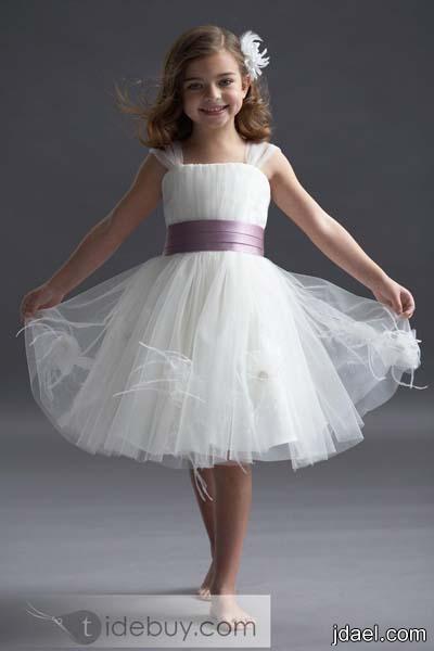 فساتين بنات لفرحة العيد موديلات بناتيه مطرزه احدث الفساتين القصيره للبنوته