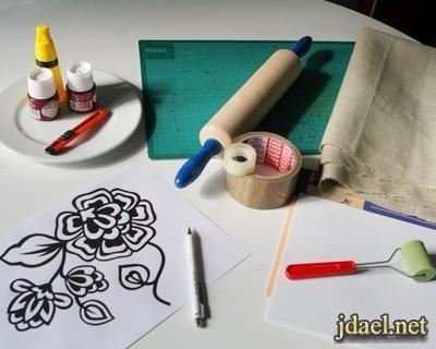 تعلمي الرسم الصيني على الحرير
