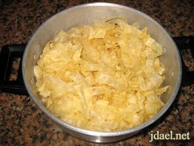 طريقة عمل عجينة الرفيسة المغربية واطيب طبق رفيسه بالدجاج