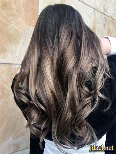 احلى صبغات الشعر العصرية وجمال القصات للشعر الطويل والقصير