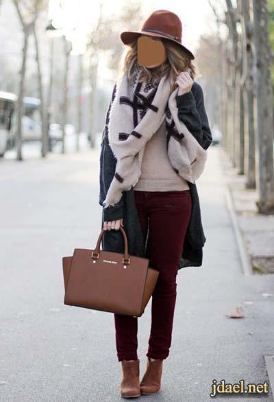 ملابس شتويه كاجول لاناقة كيوت الشتاء للبنات