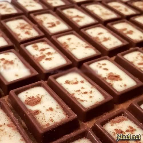 حلى قهوة حلو شوكولاتة اولكر بطبقات منوعة حلا سهل وغير