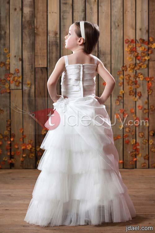 فساتين فخمه بالورد والترتر للبنوتات زفة العروس بليلة الزفاف والخطوبه