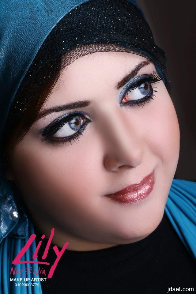 مكياج ناعم للسهرات والعرائس خبيرة المكياج ليلى نور الدين