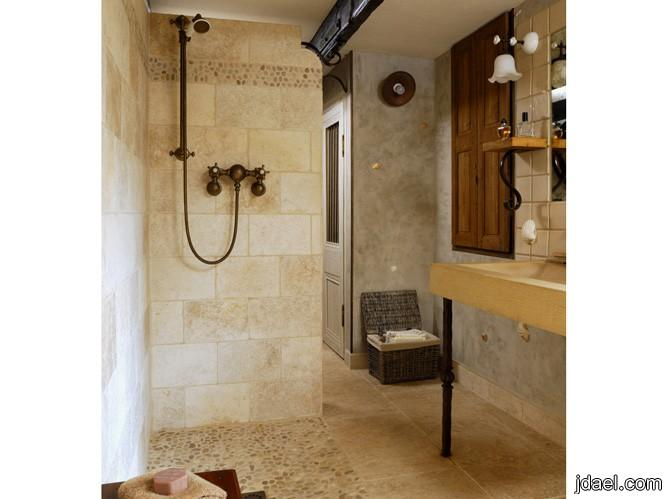 جديد تصاميم حمامات 2012 خشب رخام زجاج ومواد ثمينة