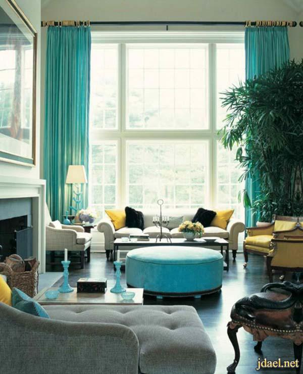 ديكور غرف الجلوس باحدث التصاميم العصريه واكسسوارات راقيه