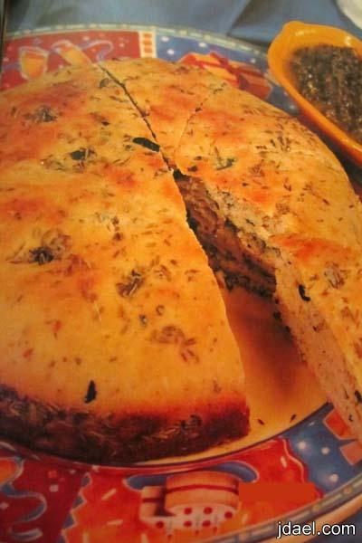 طريقة عمل الخبز الايطالي بحبيبات الكمون