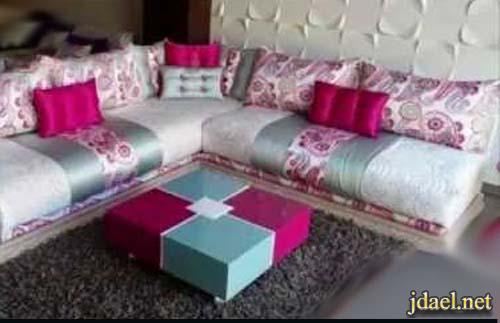 ديكور غرف جلوس تصميم مغربي جلسات مغربية لغرف المعيشة