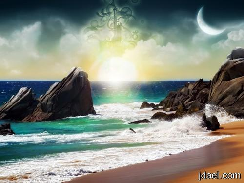 صور مناظر جميلة البحر