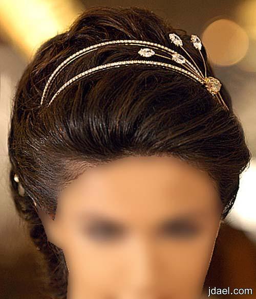 تسريحات فخمه للعروسه ليلة الزفاف بأحلى الفورمات والاكسسوار