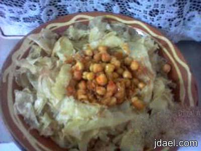 طريقة عمل شخشوخه بالخضار والدجاج المطبخ الجزائري