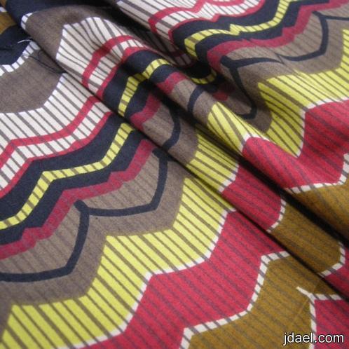 اقمشة الحرير والشيفون والترتر لتصميم فساتين الزفاف والسهرة والحفلات