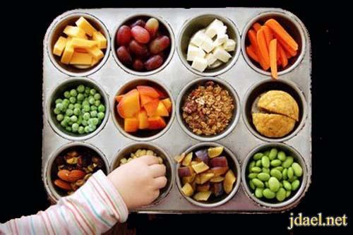 حياه صحيه افضل باستخدام البدائل انواع الطعام بالصور