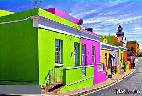 اغرب الدهانات لواجهات وجدار البيوت بالوان غريبه