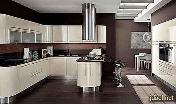 مطابخ تركي للبيوت الواسعة والشقق الصغيرة بالوان انيقة